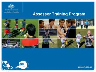 Assessor Training Program