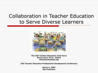 Collaboration in Teacher Education to Serve Diverse Learners