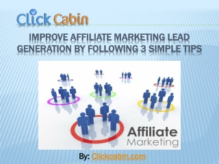 Improve Affiliate Marketing Lead Generation By Following 3 S