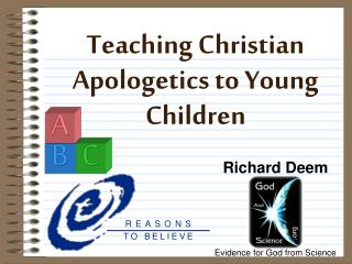 Teaching Christian Apologetics to Young Children