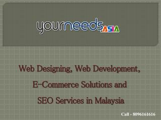 Malaysia SEO Services | Web Development India | E-Commerce