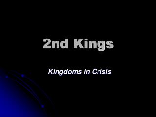 2nd Kings