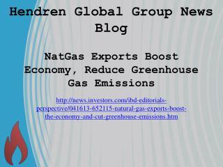 Hendren Global Group News Blog