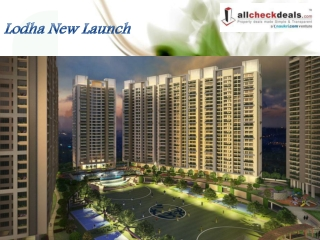 Lodha New Launch