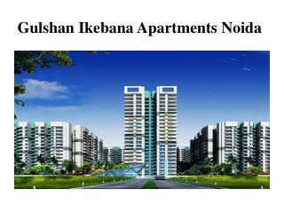 Book Gulshan Ikebana Noida apartments, call 9716112299