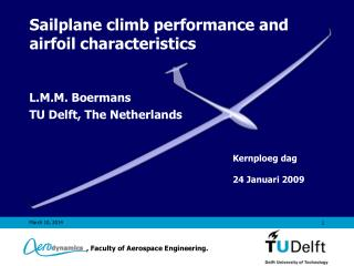 Sailplane climb performance and airfoil characteristics