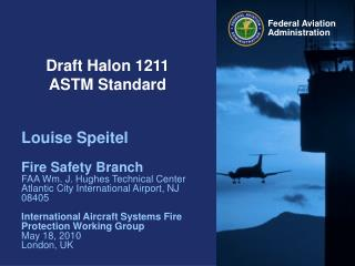 Draft Halon 1211  ASTM Standard