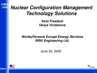 Nuclear Configuration Management  Technology  Solutions