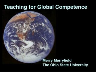Teaching for Global Competence