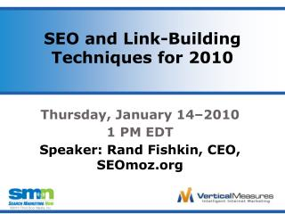 SEO and Link-Building Techniques for 2010