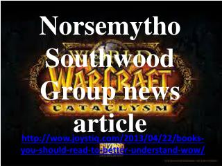 Norsemytho Southwood Group news article: Books you should re