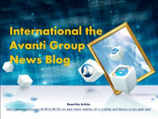 Good| International the Avanti Group News Blog