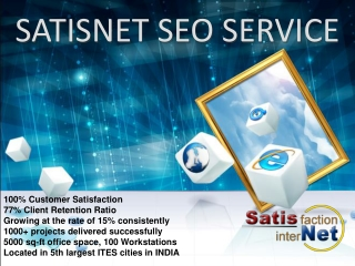 Search Engine Optimization Service - Improve your company Pr