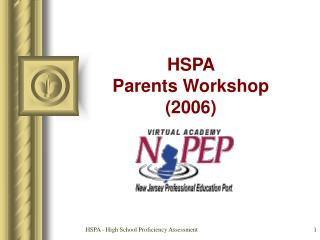 HSPA  Parents Workshop (2006)