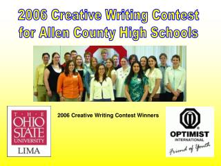2006 Creative Writing Contest  for Allen County High Schools