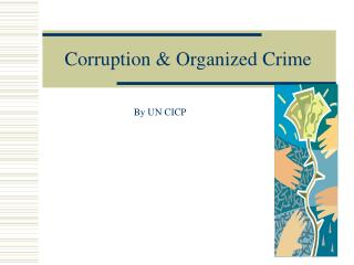 Corruption & Organized Crime