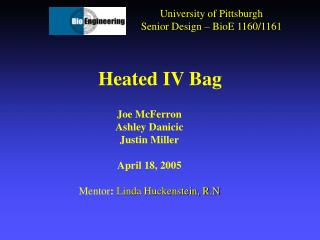 Heated IV Bag