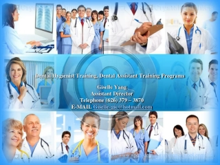Dental Hygienist Training, Dental Assistant Training Program
