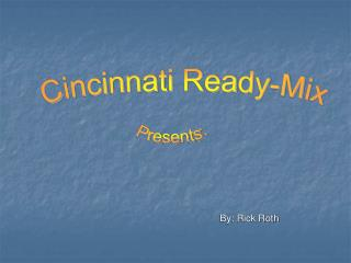Cincinnati Ready-Mix