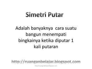 Simetri Putar