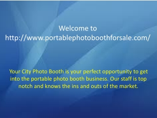 Photo Booth Manufacturers