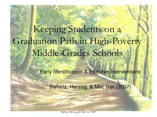 Keeping Students on a Graduation Path in High-Poverty Middle-Grades Schools