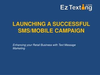 Harnessing the Power of Mobile for Your Business