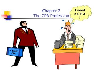 Chapter 2 The CPA Profession