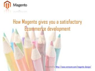 HowMagento enhances Website Development