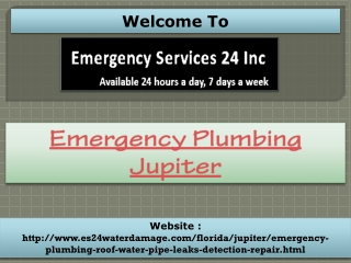 Emergency Plumbing Jupiter