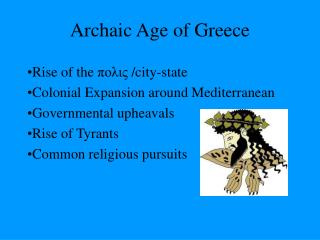 Archaic Age of Greece