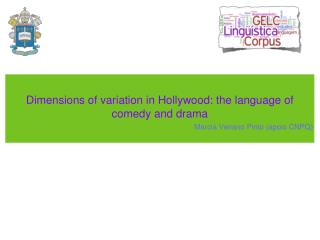 Dimensions of variation in Hollywood: the language of comedy and drama