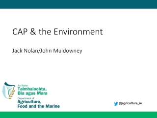 CAP & the Environment Jack Nolan/John Muldowney
