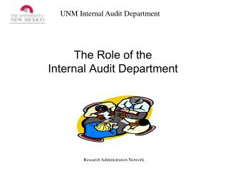 The Role of the  Internal Audit Department