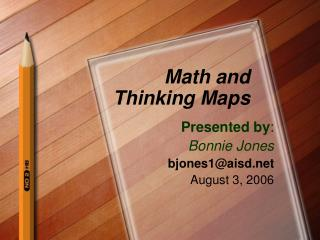 Math and Thinking Maps