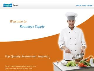 top quality restaurant supplies