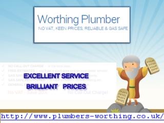 worthing plumber