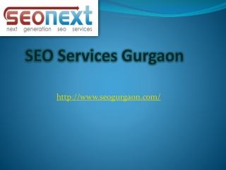 SEO Company In Gurgaon