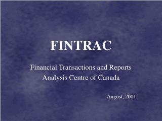 FINTRAC