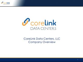 corelink data centers overview