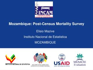 Mozambique: Post-Census Mortality Survey