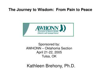 The Journey to Wisdom:  From Pain to Peace