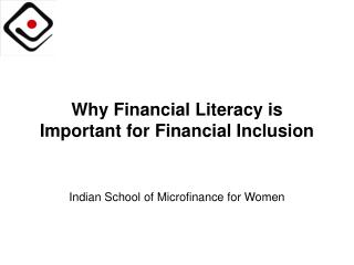 Why Financial Literacy is Important for Financial Inclusion