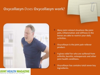 Oxycollasyn-does Oxycollasyn work?