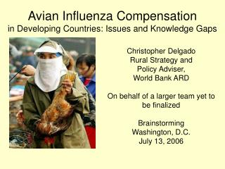 Avian Influenza Compensation in Developing Countries: Issues and Knowledge Gaps