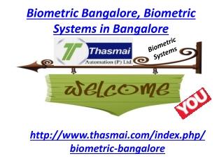 Biometric Bangalore, Biometric System Bangalore