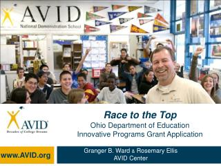 Race to the Top Ohio Department of Education  Innovative Programs Grant Application
