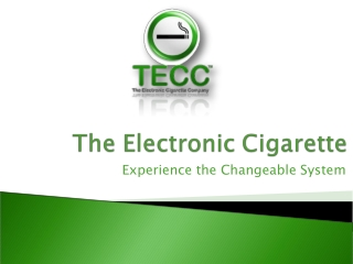 What is in an Electronic Cigarette