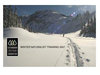 Winter Naturalist Training