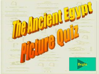 The Ancient Egypt Picture Quiz